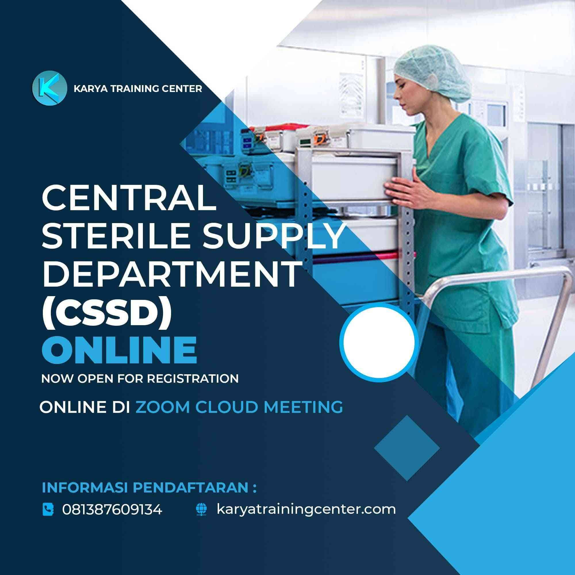 Training Central Sterile Supply Department (CSSD)